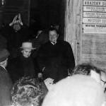 Po oslobodzujúcom rozsudku 14. novembra 1989 na schodoch Justičného paláca v Bratislave