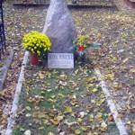 miesto jej posledného odpočinku v Starej Haliči