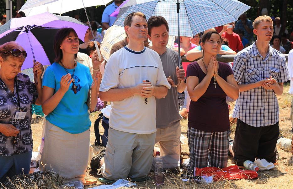 Zjavenie Kráľovnej pomoci, Dechtice, 4. augusta 2013