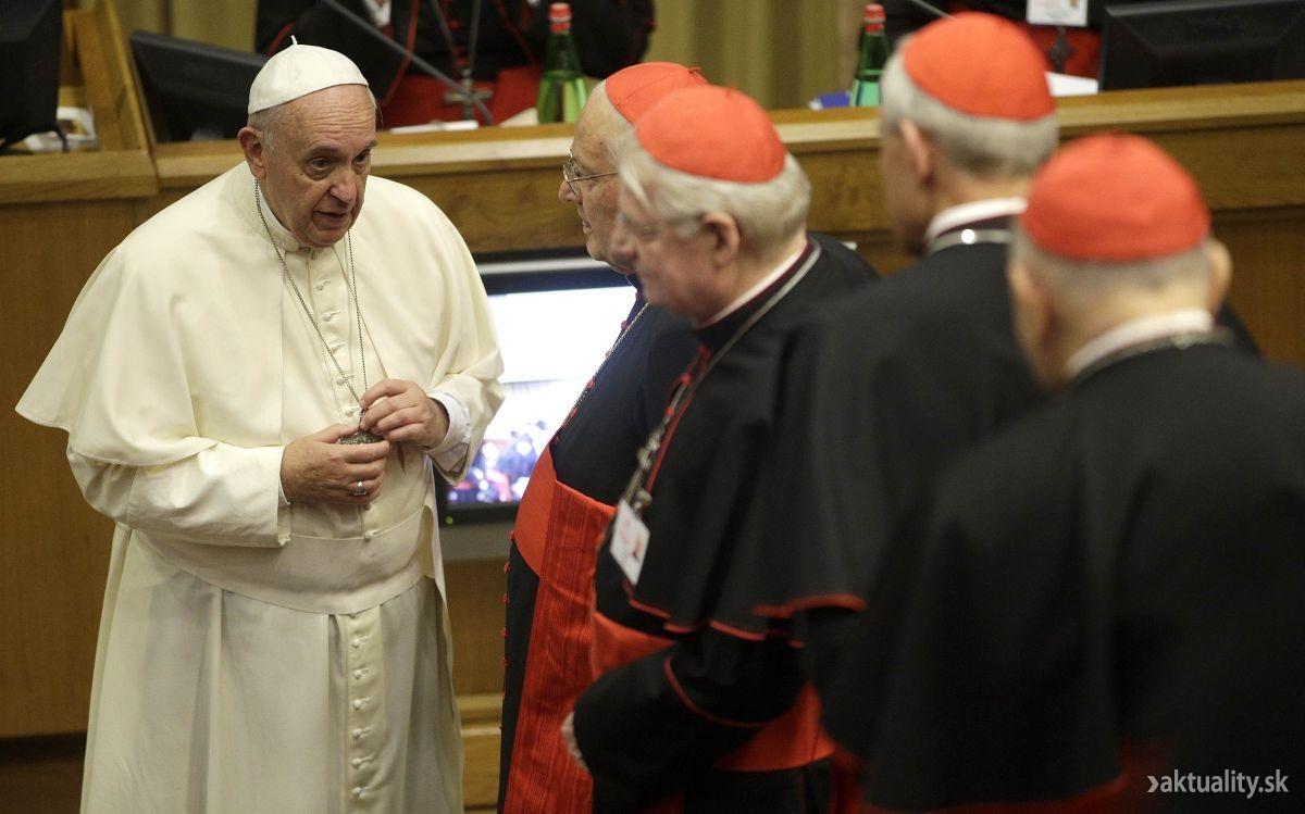 Synoda:  Afrických biskupov vraj netreba brať vážne * Synoda v háve koncilu *