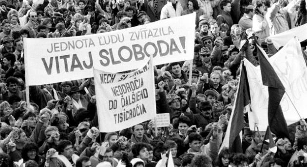 Monitoring: November 1989, 25-te výročie  (I.)